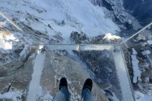 Step into the Void, Chamonix, Frankreich