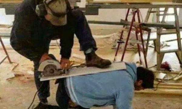 Baustellen-Fail