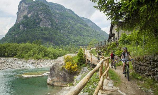Das Tessiner Verzascatal. Bildnachweis: Ticino Turismo/Christof Sonderegger